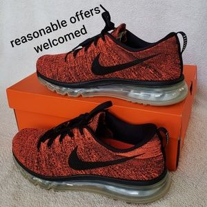 Nike Flyknit Max Mens Shoes Size 9
